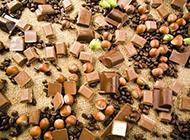 巧克力精制甜美苦涩食物图片
