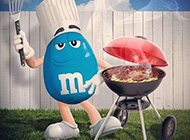 MM巧克力豆搞笑广告精美图片