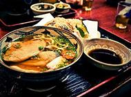 日式拉面图片鲜甜可口
