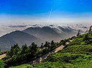 北京燕山山脉雾灵山风景图片