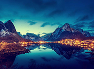 世界上最美的山水景色图片