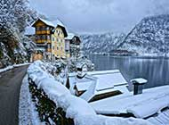 奥地利风雪美景