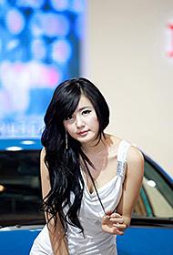 韩国车模美女俏皮青春写真