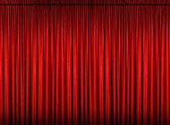 红色闭幕式背景图片素材