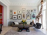 大气的客厅相片墙设计图片