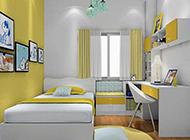 可爱时尚的儿童卧室装修效果图欣赏