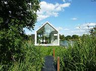 湖畔梦幻玻璃屋浪漫别墅