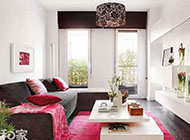 美观时尚的开放式隔断小公寓装修效果图