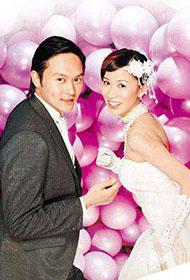 张智霖佘诗曼拍摄甜蜜个性婚纱广告写真