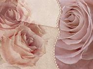 玫瑰水彩画清新精美图片素材