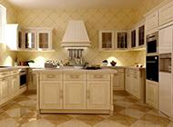 开放式时尚厨房装修效果图