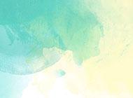 怀旧复古的水彩蓝色背景图片赏析