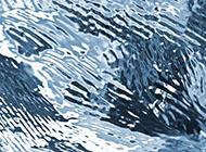 高清水波水纹背景图片 浅蓝色