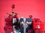 情人节的浪漫玫瑰礼物图片