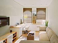80平方复式公寓现代小资情调设计图