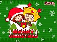 圣诞装扮卡通动漫图片