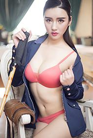 内衣美女模特马场优雅时尚写真