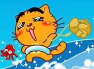 可爱卡通小黄猫唯美微信头像