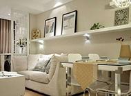 现代中式田园客厅清新风格装修效果图欣赏