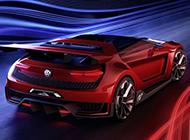 外观酷炫的大众GTI Roadster概念车高清图片