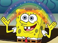 顽皮搞笑的海绵宝宝卡通头像