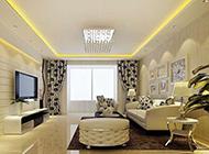 大户型欧式客厅装修设计精美奢华