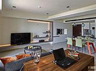 现代简约风格小户型家庭装修效果图