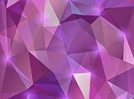 紫色不规则三角形拼合背景图片素材