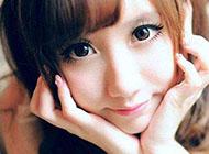 最甜美大眼睛浓妆女生图片