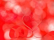 浪漫唯美心形背景图片素材