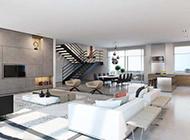 豪华公寓现代时尚装修效果图