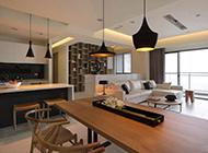 公寓现代时尚装修设计效果图