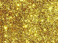 金色璀璨ppt背景图片
