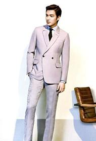 长腿男神李敏镐绅士风格帅气写真