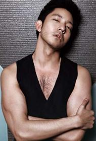 演员立威廉变身性感肌肉男帅哥