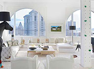 简约明亮现代公寓唯美装修效果图
