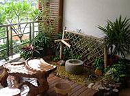 精美雅致的阳台花园装修效果图