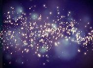星光璀璨背景图黑色背景素材