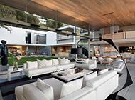 后现代时尚复式别墅装修效果图大气奢华