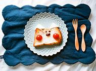 创意早餐美食超萌图片精致美味
