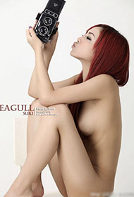 性感韩国美女赤裸人体艺术写真