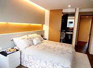 简约而温馨的日式风格卧室装修图片
