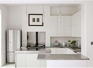 厨房简约时尚清新装修效果图欣赏