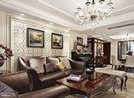 客厅欧式新古典奢华装修高贵典雅