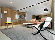 简约原木系精致套房大空间装修风格