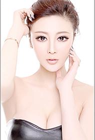 气质美女肖雨轩洁白无瑕杂志写真