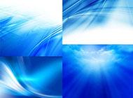 多张蓝色背景图片欣赏