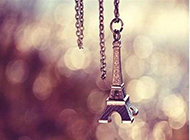 巴黎铁塔浪漫唯美风景