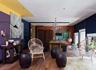 时尚混搭风格家居设计打造特色的两居室