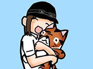 可爱日本卡通萌图背景图片